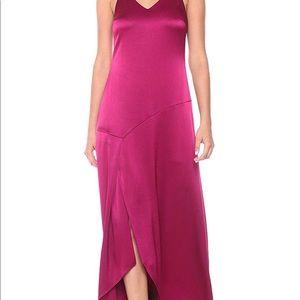 Halston evening gown . Fuchsia. Size 4